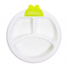 BBLUV - Plato - Assiette chauffante pour bébé - Lime