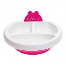 BBLUV - Platö - Assiette chauffante pour bébé - Rose