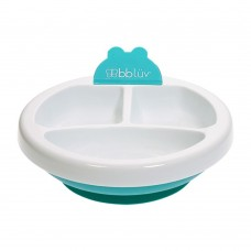 BBLUV - Platö - Assiette chauffante pour bébé - Aqua