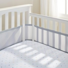 Breathable Baby - Tour de lit en filet - Gris