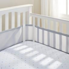 Breathable Baby - Tour de lit en filet - Gris
