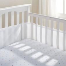 Breathable Baby - Tour de lit en filet - Blanc