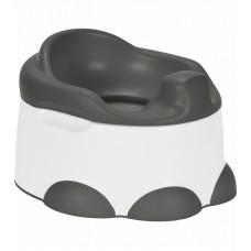 Bumbo - Petit pot et tabouret 2 en 1 - Gris