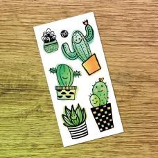 Pico Tatoo - Tatouage pour enfants - Les cactus