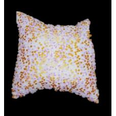 La Libellule - Carrément bébé - Charlotte - Coussin 14x14 - MAUVE&DORÉ