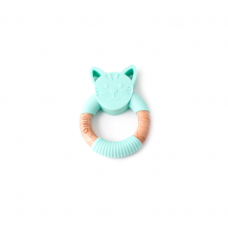 Bulle Bijouterie - Hochet animal – Chat menthe