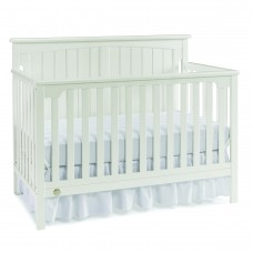 Fisher-Price - Lit de Bébé Transformable - Colton - Blanc Coquille d'Oeuf
