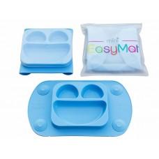 EasyMat - Assiette à succion portable - Bleu