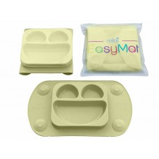 EasyMat - Assiette à succion portable - Olive