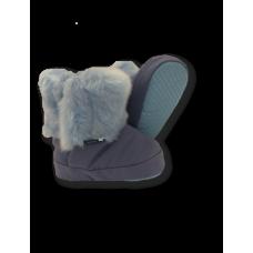 TUTU - Bottillons avec fourrure - Bleu