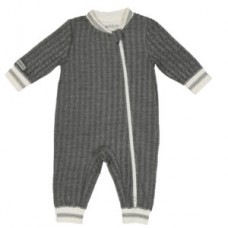 Juddlies - Cottage Collection - Pyjama - Bear Black