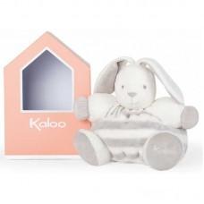Kaloo - Bébé Pastel - Patapouf lapinou gris & crême (Large)