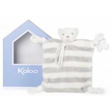 Kaloo - Bébé Pastel - Doudou Ourson - Gris & Crème - 960087