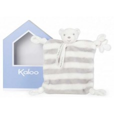 Kaloo - Bébé Pastel - Doudou Lapinou gris & crême