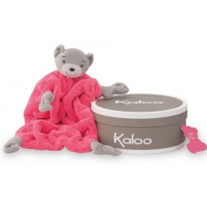 Kaloo - Plume Néon - Doudou Ourson - Rose fluo - 962329