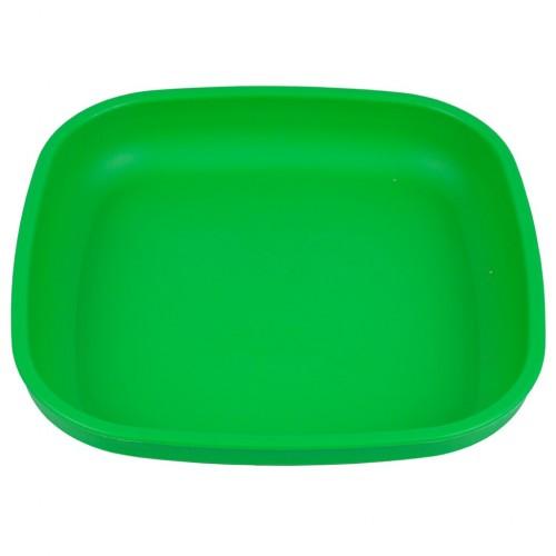 Re-Play - Assiette originale en plastique recyclé - Vert Kelly