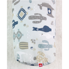 Neka - Coussin d'allaitement - Lama bleu