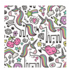 Oops - Coussin de tête EVO - Collection Fun - Licorne