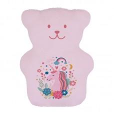 Béké Bobo - Compresse thérapeutique - Ourson pour les enfants - Licornes roses