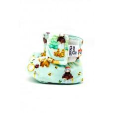 Bébé Ô Chaud - Pantoufles à velcro – Bucheron