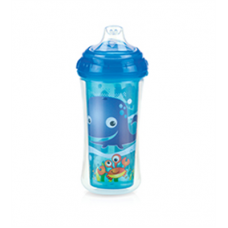 Nuby - Gobelet Isotherme No-Spill™ Clik-it™ Cool Sipper™ 300mL - 6m+ - Ocean (Bleu) - 5310094