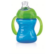 Nuby - Gobelet No-Spill™ GripN' Sip™ 240 mL (8oz) - bleu/vert - 5310052