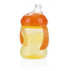 Nuby - No-Spill™ Grip N' Sip™ 240 ml - 4M+ - Orange/Jaune - 5310065