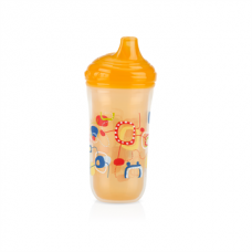 Nuby - Gobelet isotherme No-Spill™ Easy Sip™ 270 ml - Orange - 5310195