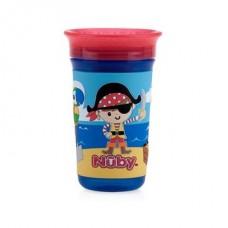 Nuby - Gobelet No-Spill™ 3D 360° Wonder Cup™ 300 mL - Pirates 5310542