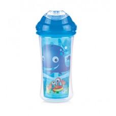 Nuby - Gobelet Isotherme No-Spill™ Clik-it™ Cool Sipper™ 300mL - 18m+ - Ocean (Bleu) - 5310097