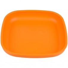 Re-Play - Assiette originale en plastique recyclé - Orange