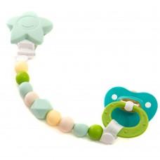 Petites créations - Attache-suce - Étoile Verte