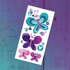 Pico Tatoo - Tatouage pour enfants - Les jolis papillons