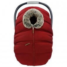 Petit Coulou - Housse protectrice d'hiver - Rouge / Loup