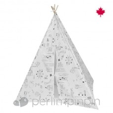 Perlimpinpin - Colorie-moi - Tipi
