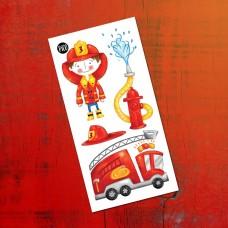 Pico Tatoo - Tatouage pour enfants - Max le pompier