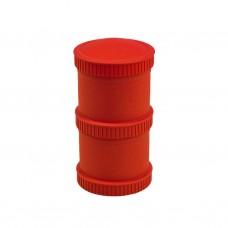 Re-Play - Snack Stacks - Contenants interchangeables et empilables en plastique recyclé - Rouge