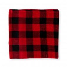 Jesse & Lulu - Couverture en polar - Carrelé rouge/noir