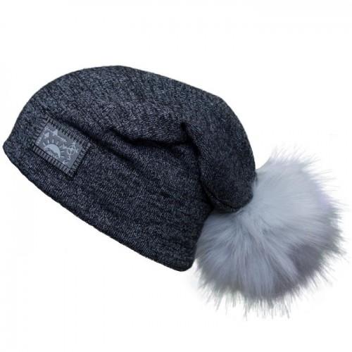 Calikids - Knit Slouchy Hat - Tuque printemps/automne - Noir