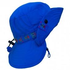 Calikids - Chapeau d'été avec visière - Bleu nautique