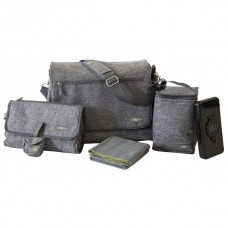 BBLUV - Sac à couche ultra - Gris heather