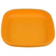 Re-Play - Assiette originale en plastique recyclé - Jaune soleil