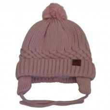 Calikids - Bonnet d'hiver unisexe en tricot de coton - Rose ballet